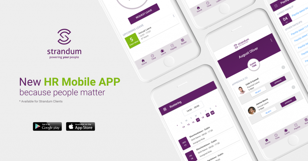 Strandum HR Launches Self-service Mobile APP. Helping both employee and managers.