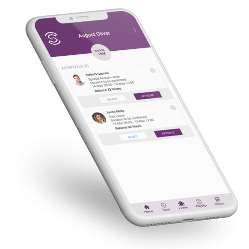 HR Software Solution - Mobile